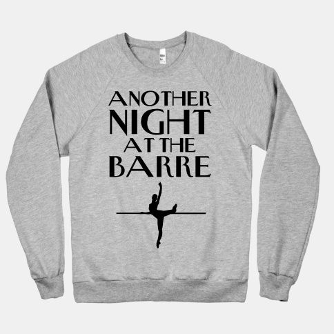 """""""Another Night At The Barre""""Missing my time at WAC's Dance Company!!"""