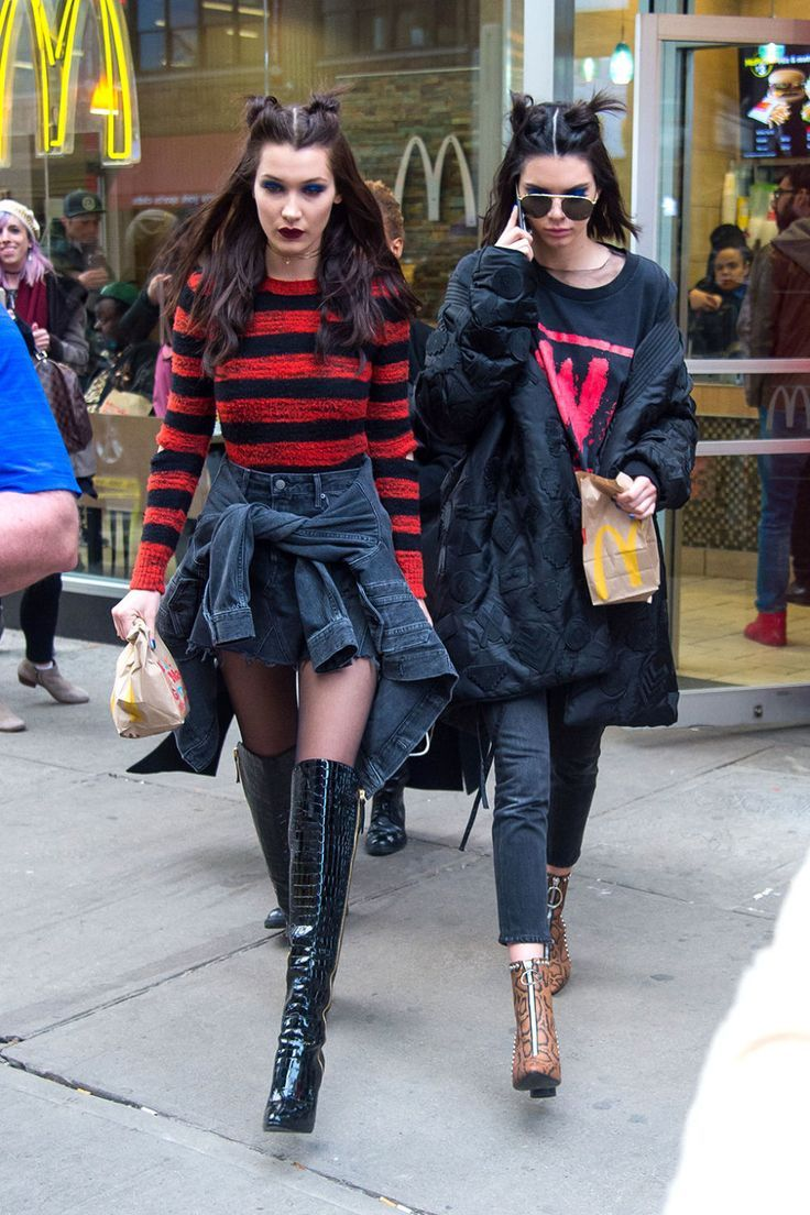 Kendall Jenner and Bella Hadid Make McDonald's Snacking Chic