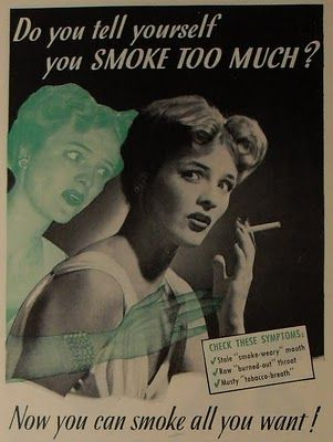 vintage smoking cigarette - Google Search