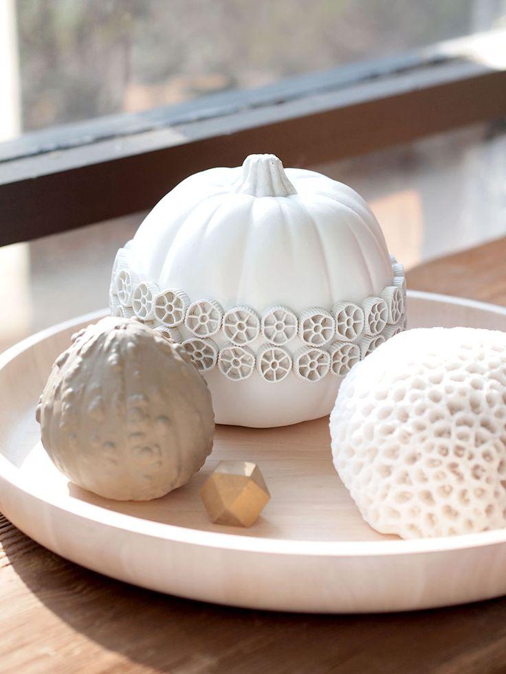 The Great Pumpkin DIY Adventure 2013: Tonal and textural pumpkins - Happy Mundane | Jonathan Lo