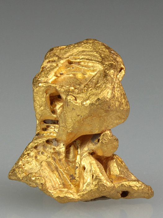 NATIVE GOLD Minerals from El Infierno Mine, Santa Elena de Uairen, Bolivar, Venezuela, South America at Crystal Classics
