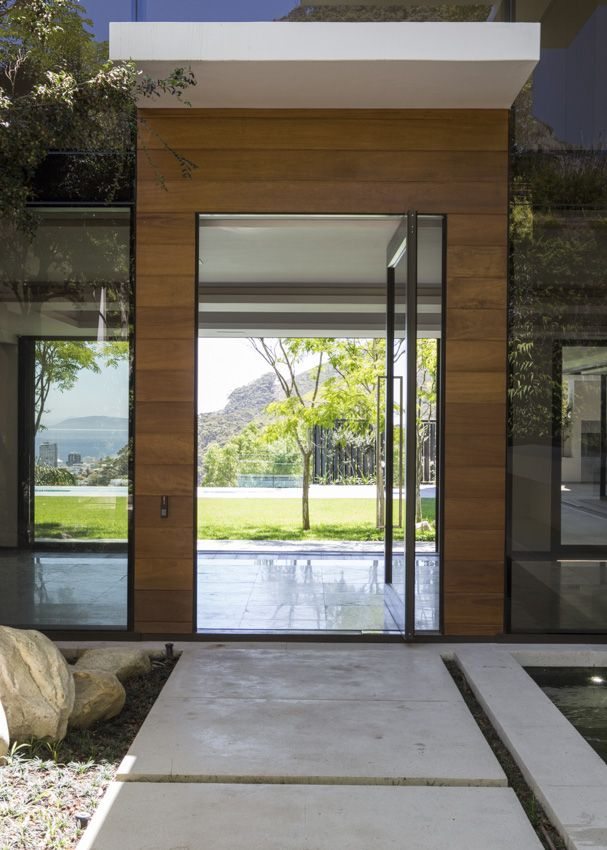 Fresnaye Front door  - also the image on the Cover of the new Habitat Magazine March/April