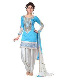 Rowel Enterprise Orange Cotton Dress Material Price in India - Buy Rowel Enterprise Orange Cotton Dress Material Online at Snapdeal
