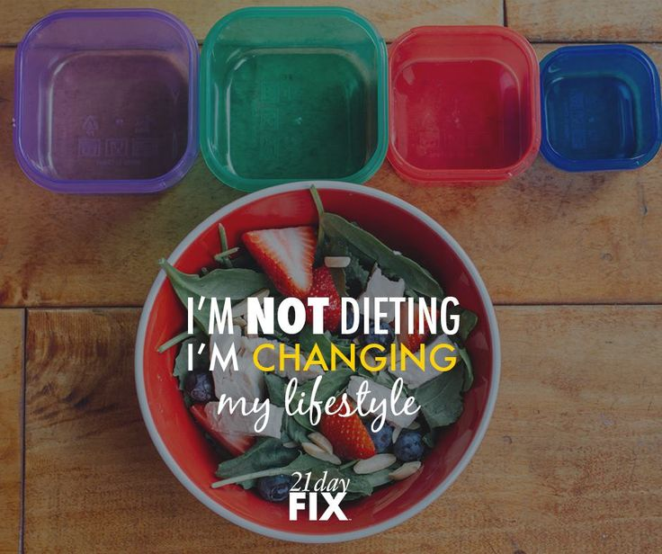 21 Day Fix is about creating healthy habits that stick with you! Plus, you know ...