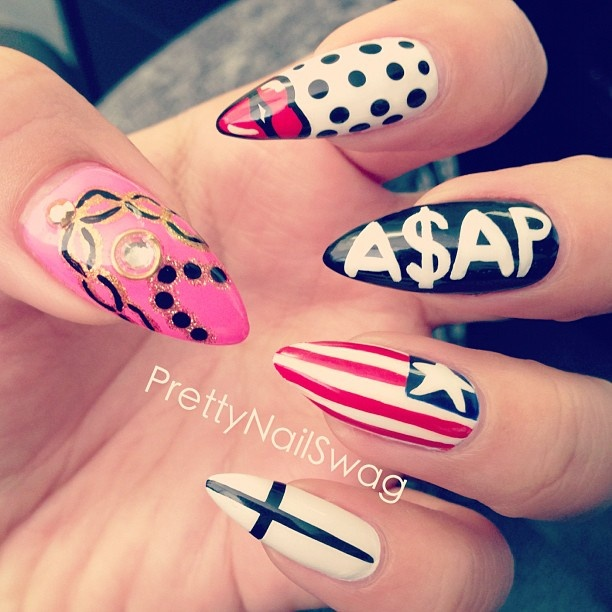15 best nails images on pinterest nail designs accessories and i love bad bitch nails thats my fckin problem things nail swag prinsesfo Image collections