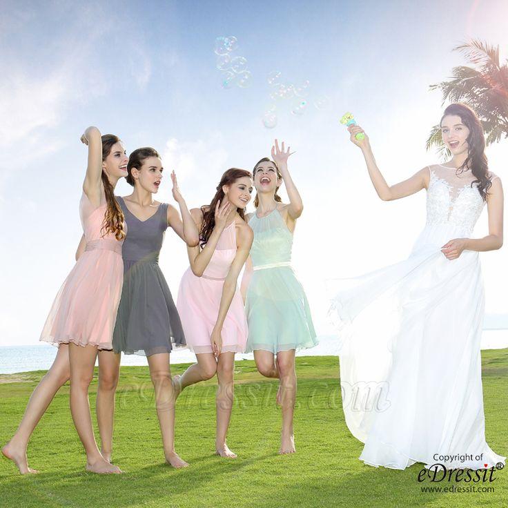 Short Bridesmaid Dress Sale