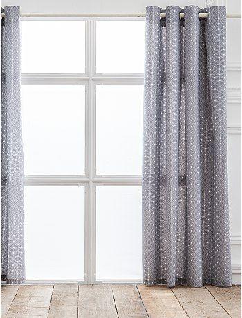 Rideau imprimé étoiles Linge de lit à 20,00€ - Découvrez nos collections mode à petits prix dans notre rayon Rideau.