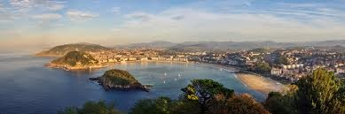 """(Chapter 19) After Brett and my other friends left, i have been trying to find other ways to keep busy in San Sebastian, """"I had coffee and the papers in bed and then dressed and took my bathing-suit  down to the beach."""" """"I swam slowly, it seemed like a long swim with the high tide"""" (241). I was taking my time and enjoying this much needed vacation before heading back to the grind of life in Paris. Here is a picture I had taken on my way down to the beach while I took in the sights around me."""