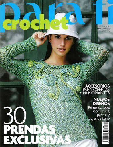 Moda Knitting Pattern Books : 38 best images about Tejer la Moda - PUNTO E MODA - PARA TI CROCHET - REVISTA...