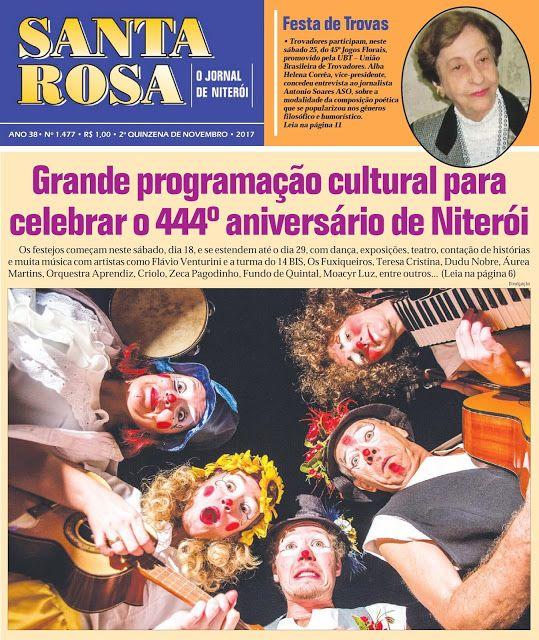 FOCUS PORTAL CULTURAL: JORNAL SANTA ROSA - EDIÇÃO 1.477 - SEGUNDA QUINZEN...
