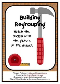 Pitner's Potpourri: Building Regrouping - Freebie