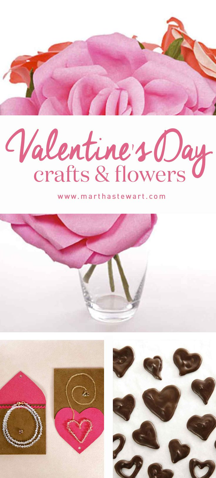 Valentine 39 s day craft and flower ideas crafts for Valentines day flower ideas