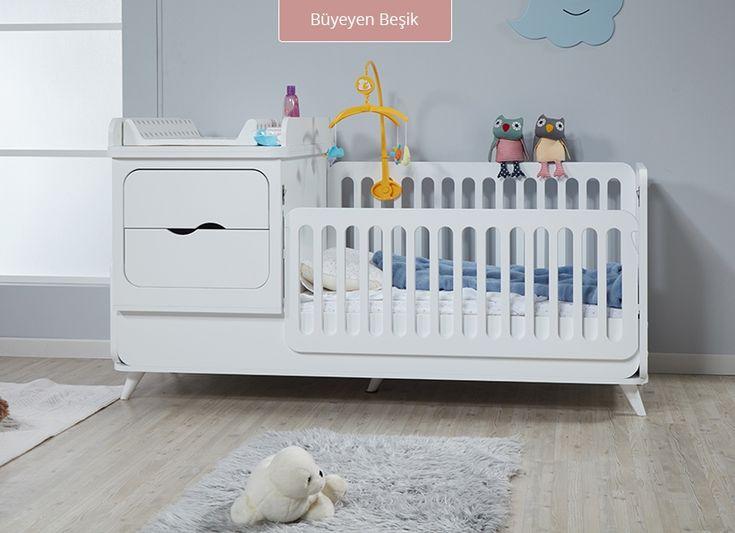 Modern çizgileri sayesinde bebeğinizin odasına farklı bir hava katan pesce beşik, aynı zamanda kullanım kolaylığı sağlayan ergonomik çözümleri sayesinde annelerin tercihi olacak. Evinizin kahramanı için mükemmel bir seçim.