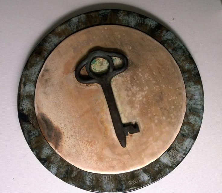 Glaze and pit firing -  handbuild ceramic Sir, oksit ve dumanla renklendirilmis el yapimi seramik