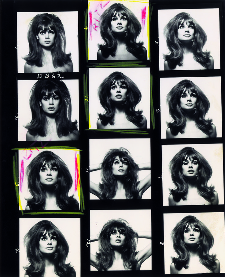 David Bailey Contact Sheet
