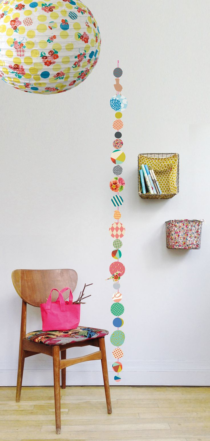 Adapt this colored dot idea into a prettier growth chart for the wall