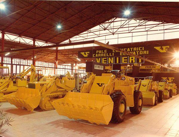 1976 Venieri becomes a joint-stock company.