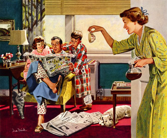 Ретро порно 1954г