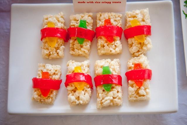 rice krispie treat sushi. cute!