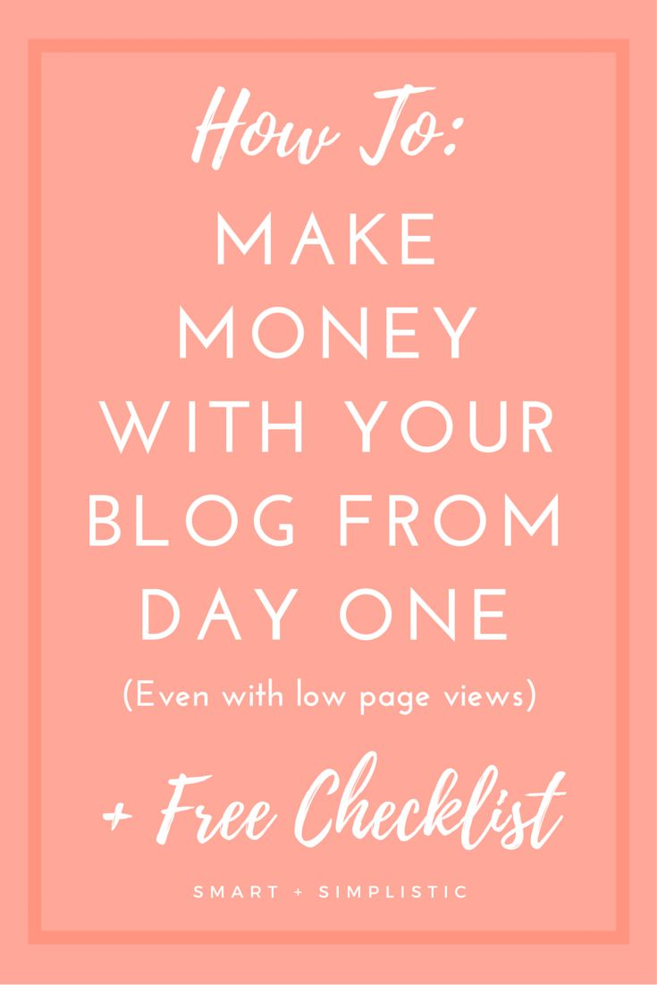 How to make money blogging as soon as you launch your blog. I see so many bloggers sell themselves short because they think that they cannot earn money blogging until they have a huge following. You can start earning good money right away with your blogs if you have the right strategy. In this post I give you all the tips and tools that you would need to start a profitable blog the day you launch or even months later if you still have not gotten the hang of monetization.