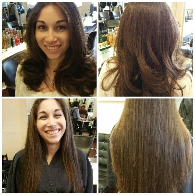 Before After Hair Was Donated To Locks Of Love By Eduardo Lazo