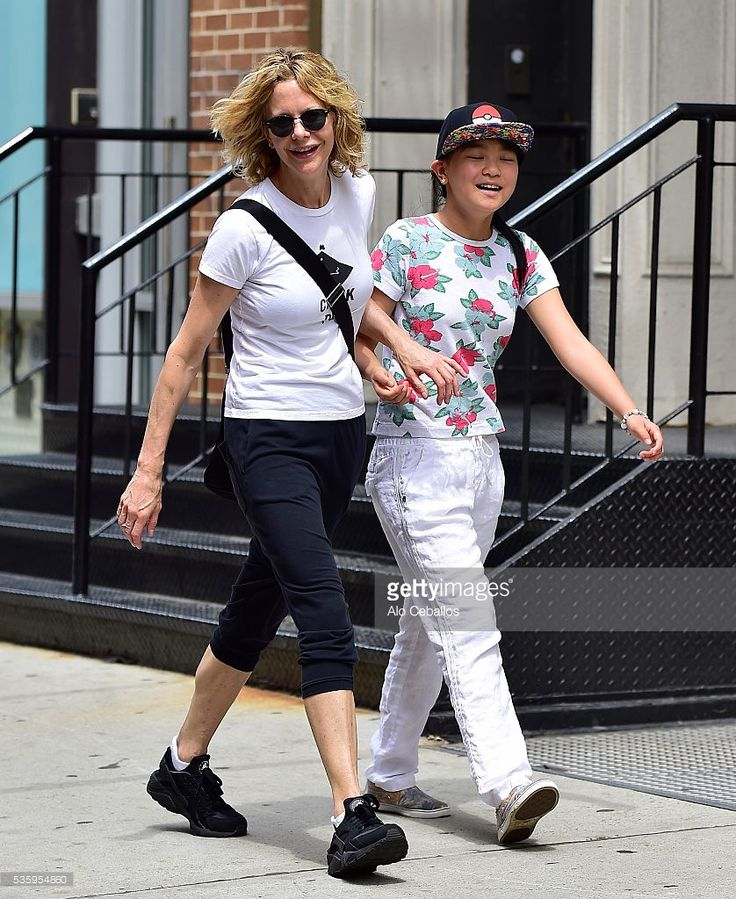 Meg Ryan and Daisy True Ryan are seen in Soho on May 30, 2016 in New ...