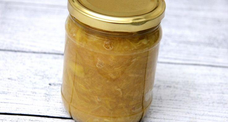 Almás-gyömbéres rebarbaradzsem recept: Egy tökéletes, és mennyei finom Almás-gyömbéres rebarbaradzsem recept! Ezt egyszerűen ki kell próbálnod! ;)