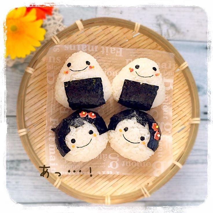 Cute onigiri by kayo* (@tera_39c5)