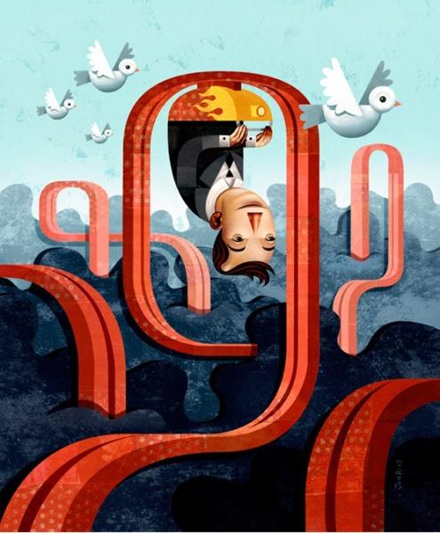 Живущий в Нью-Джерси художник Джон Рейнферт, изучал мастерство иллюстрации в университете Искусств в Филадельфии.