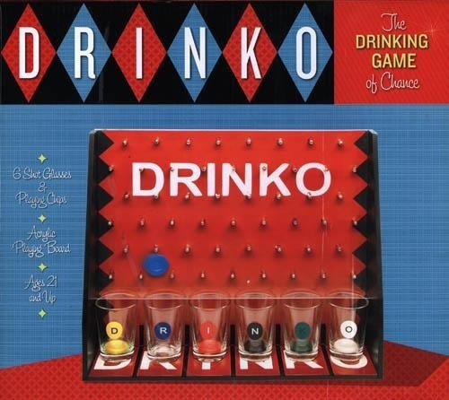 Drink Drank Drunk Board Game