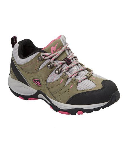 Stone Rose ARock Carmel Leather Hiking Shoe - Women   zulily
