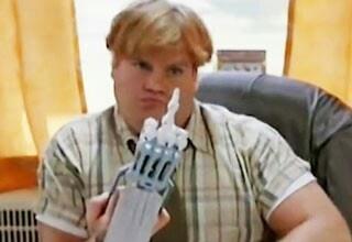 "Chris Farley as Tom ""Tommy Boy"" Callahan"