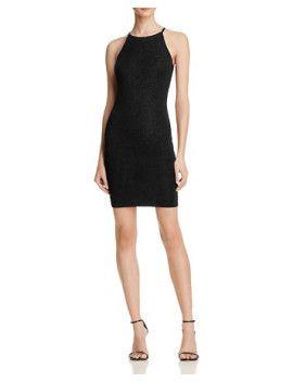 shine-bodycon-dress by aqua #dress #fashion #trends #onlineshopping #shoptagr
