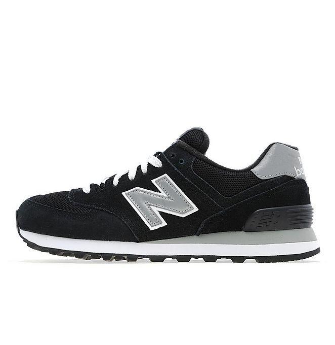 new balance grijs zwart