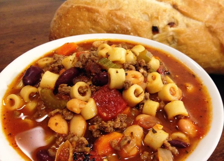 Copycat Olive Garden Pasta Fagioli Soup Recipes To Try Pinterest Gardens Soups And Chang 39 E 3