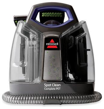 Bissell Spot Clean Complete Pet Handheld Deep Cleaner - contemporary - vacuum cleaners - Bed Bath & Beyond