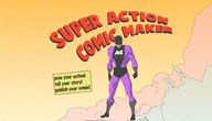 Culture Street - Locate + Create - Select Super Action Comic Maker for ready made superhero backgrounds, characters, speech bubbles, etc - awesome tech resource!
