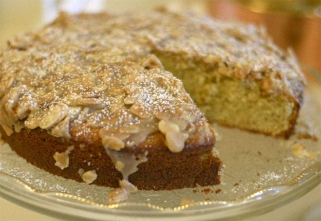 Seriously Italian: Almond Olive Oil Cake for Valentine's Day Recipe
