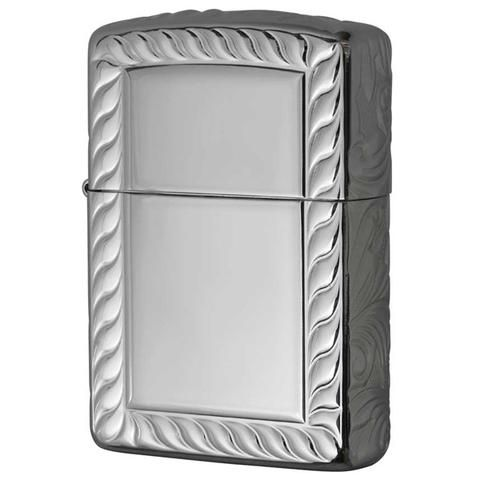 Armor Zippo Lighter 5-sided Sculpture Titanium Coating 5NC-ROPE(A)
