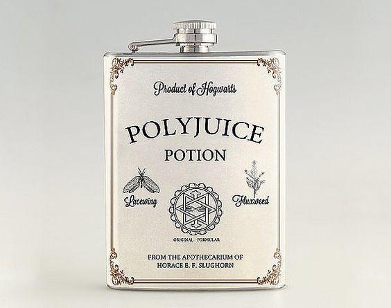 Polyjuice flask, you like, you design.