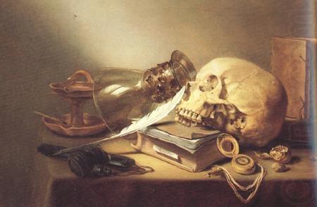 A Vanitas Still Life, by Pieter Claesz.
