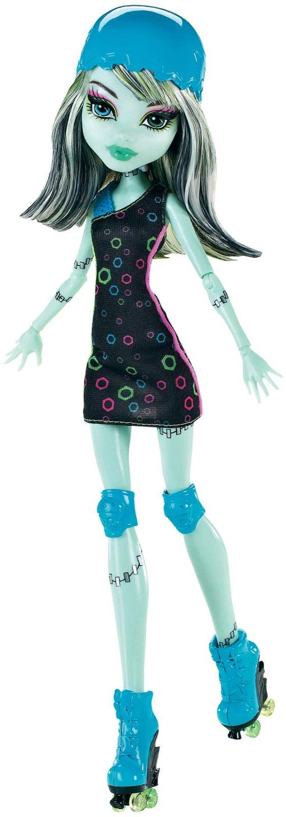 Frankie Stein Skulltimate Roller Maze Mattel Monster High doll