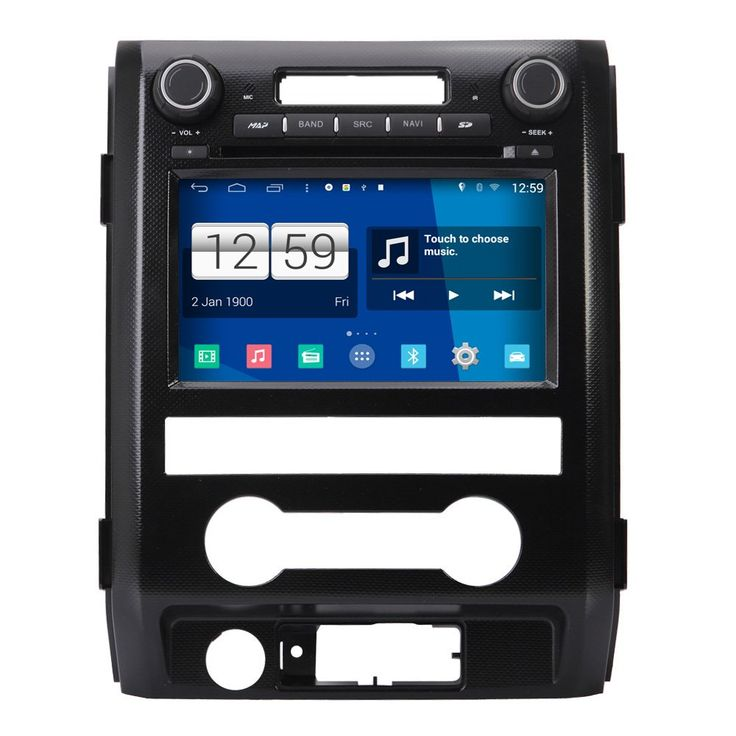 Koolertron 8 inch HD Android 4.4.4 Car DVD Player GPS Navigation Stereo For 2009 2010 2011 2012 Ford F150. Android 4.4.4 Car DVD Player GPS Navigation Stereo For 2009 2010 2011 2012 Ford F150. Operate System: Android 4.4.4. CPU: RK3188 1.6GHz Cortex A9 Quad Core. RAM Memory: DDR3 1GB. 8inch with 1024*600 multipoint capacitive screen,5 Point Touch.