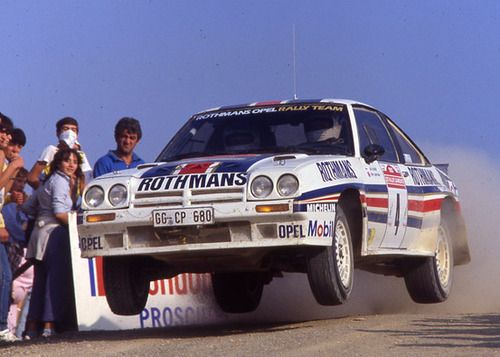 Opel Manta 400 rally car - Group B