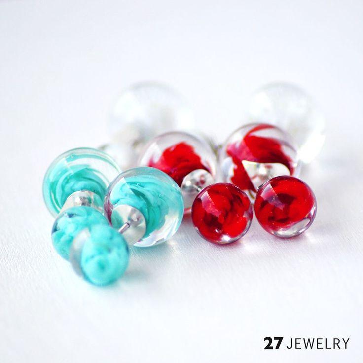Double 27jewelry Earrings   27jewelry