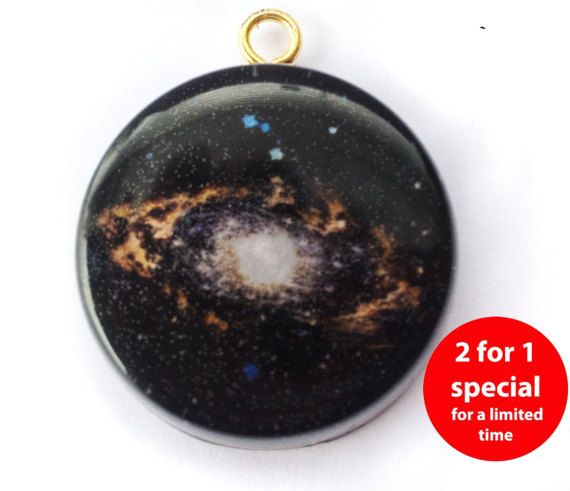 Galaxy Orgonite pendant Free shipping Orgone by OrgoniteArt