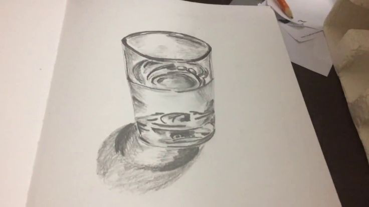 Glass Drawing | Speed Drawing | Pencil Drawing | How to draw a Glass