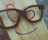 #dafaqqq #cute #wooden #glasses #nerd #smile