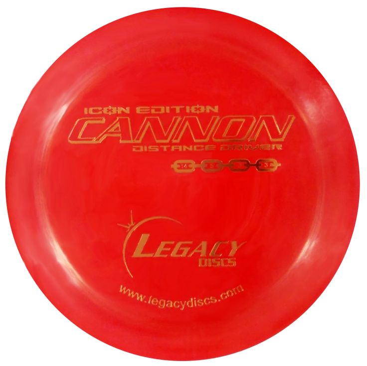 Legacy Icon Edition Cannon Distance Driver Disc Golf Disc