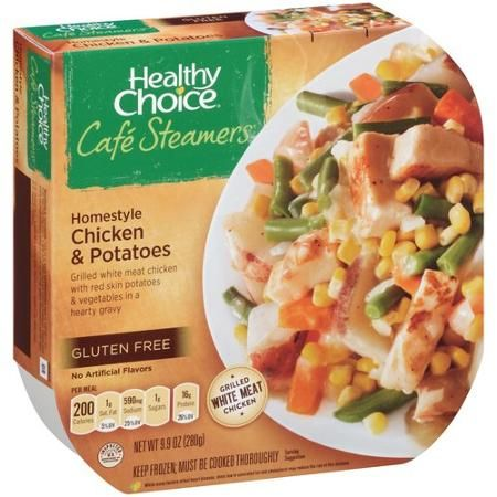 Healthy Choice Cafe Steamers Homestyle Chicken & Potatoes, 9.9 oz - Walmart.com
